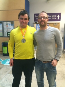 UK Indoor silver medalist and sponsored athlete Scott Lincoln.